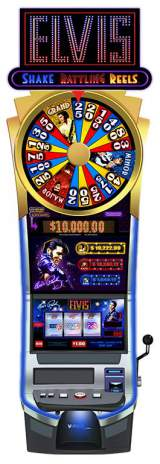Elvis - Shake Rattling Reels the Slot Machine