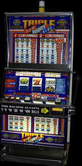Triple Red White & Blue [2-Coin Multiplier] the  Slot Machine