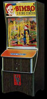 The Original Bimbo - 3 Ring Circus the Coin-op Working Model