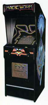 Magic Worm the  Arcade Video Game