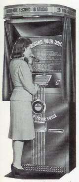 Voice-O-Graph - Automatic Recording Studio the  Other Game