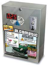 Alcomatic - Breath Alcohol Tester the Coin-op Service Machine
