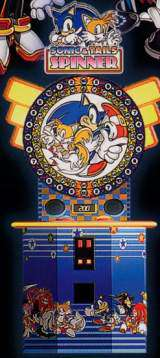 Sonic & Tails Spinner the  Redemption Game