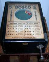 Bosco [Beer model] the Coin-op Trade Stimulator