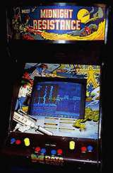 Midnight Resistance the Arcade Video Game