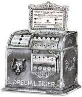 Special Tiger Gum Vender the Coin-op Trade Stimulator