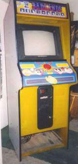 Badlands [Model GX455] the  Arcade Video Game