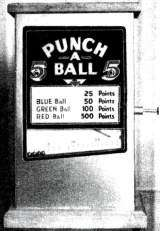 Punch-A-Ball the  Non-Coin Machine