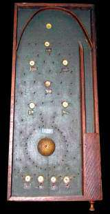 Parlor Bagatelle Table the  Non-Coin Machine