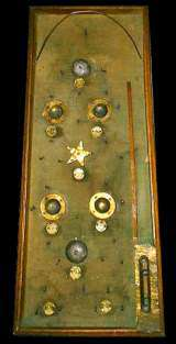Parlor Bagatelle Table [1-Star, 2-Bell] the Non-Coin Machine