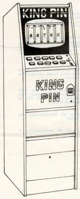 King Pin the  Arcade Video Game PCB