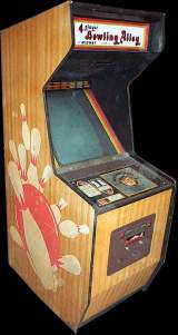 4 Player Bowling Alley [Upright model] [No. 730] the  Arcade Video Game
