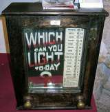 Which can you light to-day ? the  Shocker