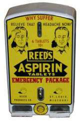 Reed's Aspirin Tablets the  Vending Machine