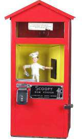 Scoopy Gum Vendor the  Vending Machine