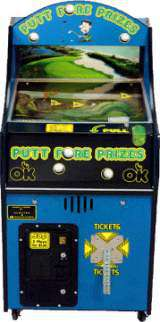 Putt Fore Prizes [Ticket model] the  Redemption Game
