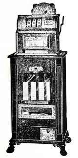 O.K. Gum Trade and Check Vending Machine [No. 101] the  Slot Machine