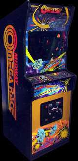 Omega Race [Upright model] [Model 929] the Arcade Video Game