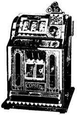 Comet Twin Jak-Pot Mint Front Vender [Model 3] the Slot Machine