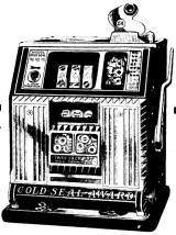 Baby Gold Seal-Award [Twin Jack Pot] [Model 15] the Slot Machine