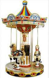 Carousel - The Kiddy Ride the  Kiddie Ride