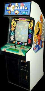Pac-Mania the  Arcade Video Game