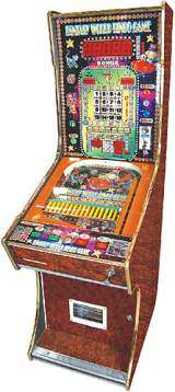 Fantasy World Bingo Game the Coin-op Pinball