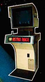 Astro Race [Deluxe model] the  Arcade Video Game