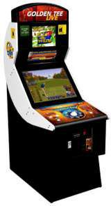 Golden Tee Live 2008 the Arcade Video game