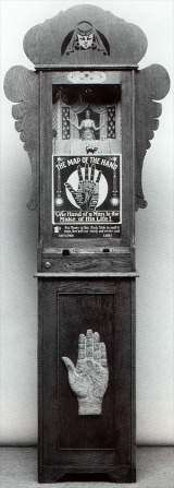 Palmistry Fortune Teller [The Map of the Hand] the Coin-op Fortune Teller