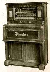 The Pianino [Case Design No. 1] [Style 1] the Coin-op Musical Instrument