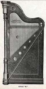 The Wurlitzer Harp [Style B] the Coin-op Musical Instrument