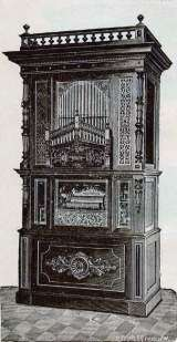 Badenia-Orchestrion the  Musical Instrument