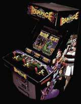 Rampage - World Tour the  Arcade Video Game PCB