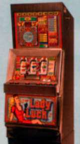 Lady Luck [Bally Cabinet model] the  Slot Machine