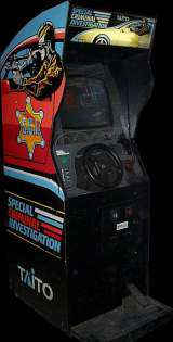 S.C.I. - Special Criminal Investigation the Arcade Video game