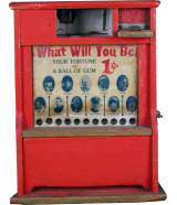 What Will You Be the Coin-op Vending Machine