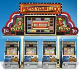 Fortunes of the Caribbean [Big Event - Press Your Luck] the  Slot Machine