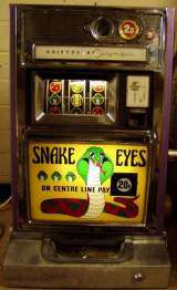 Snake Eyes [Aristocrat Olympic] the Slot Machine