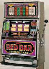 Red Bar - 5 Coin Multiplier the  Slot Machine