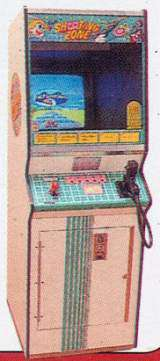 Shooting Zone the  Arcade Video Game PCB