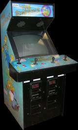 The Simpsons [Model GX072] the  Arcade Video Game
