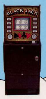 Black Jack the  Arcade Video Game PCB
