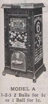 Model A the Coin-op Vending Machine