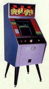 Break-Open [Upright model] the Arcade Video Game