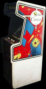 Star Castle the  Arcade Video Game PCB