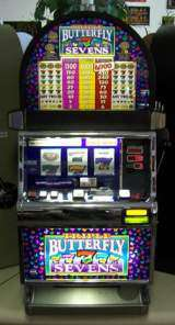 Triple Butterfly Sevens [3-Reel, 1-Line, 3-Coin] the  Slot Machine