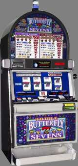 Triple Butterfly Sevens [4-Reel, 1-Line, 2-Coin] the  Slot Machine
