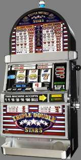 Triple Double Stars [3-Reel, 1-Line, 2-Coin] the Slot Machine