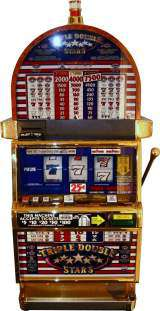 Triple Double Stars [3-Reel, 1-Line, 3-Coin] the  Slot Machine